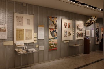 汐留「東京廣告博物館 ADMT」海報展示區