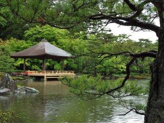 Taman ini dibuat oleh adik termuda dari sanga pemilik, Tokushiro Tamane