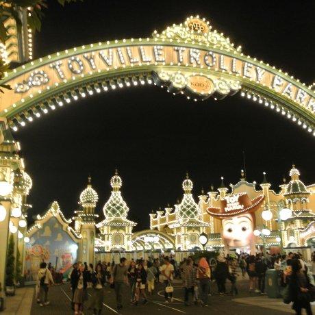 Tokyo DisneySea di Malam Hari