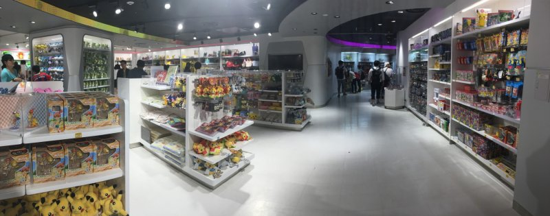 Покемон Центр Мега в Токио (Pokemon Center Mega Tokyo)