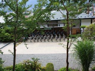 Les vélos à louer