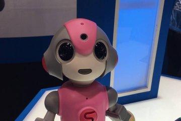 도쿄의 로봇 엑스포