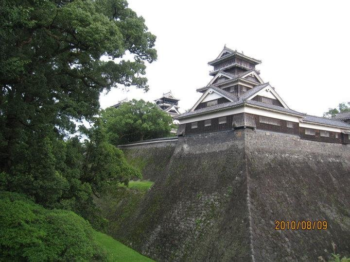 The Uto Yagura Turret and the keep tower from outside the main bailey