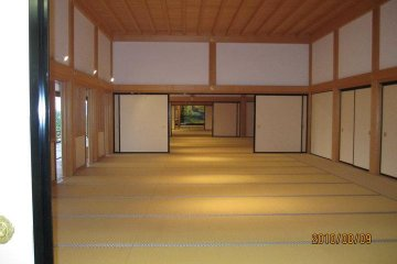 The main hall of the restored Honmaru Goten Palace
