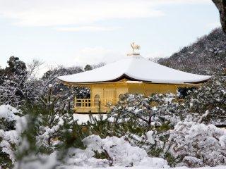 Regardez cette neige qui recouvre parfaitement le toit !
