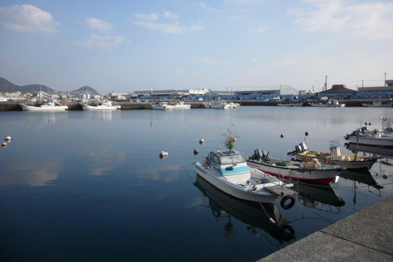 마쿠라자키 항구