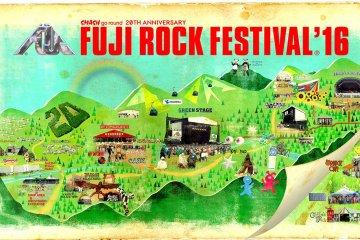 Fuji Rock Festival 2016 Lineup