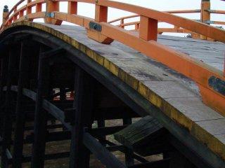Miyajima's famous bridge