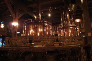 Inside Otaru Beer Hall