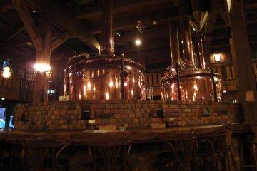 Inside Otaru Beer Hall
