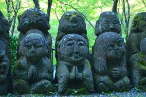 A thousand wisdoms of Buddha in Arashiyama Kyoto