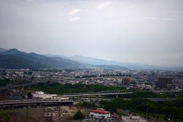 Morioka City From Atop Malios