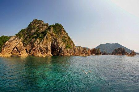 Kapal Pesiar Pantai Tottori Uradome