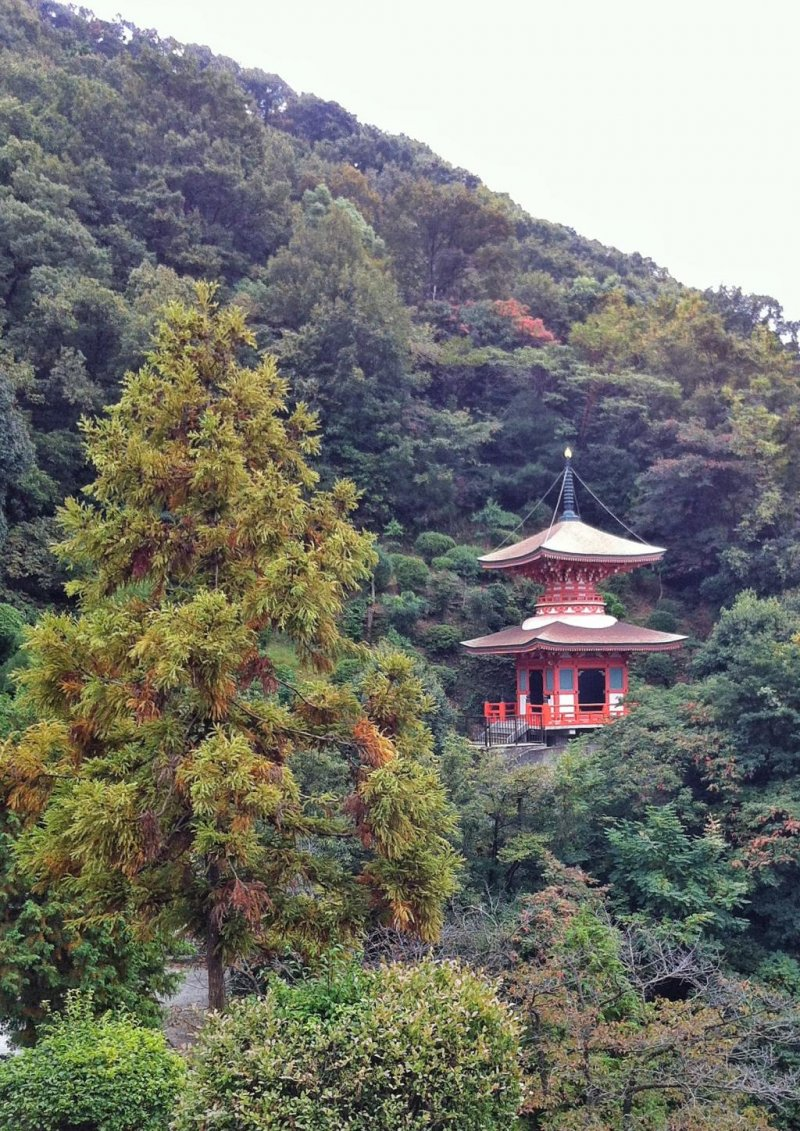 <p>Another pagoda in the grounds of Mangan-ji</p>