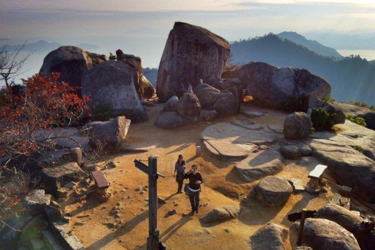 Núi Misen trên đảo Miyajima