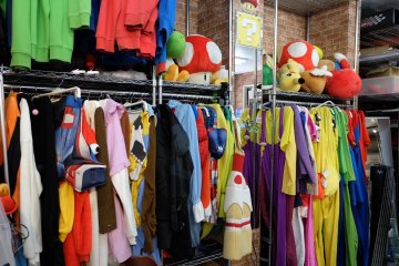 Lots of costumes to choose from