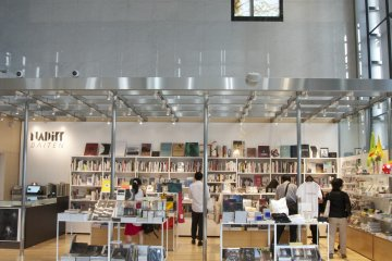 Tienda de regalos en el Museo TOP