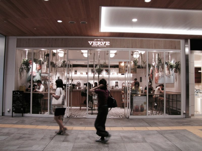 Verve Coffee Roasters at Shinjuku Station