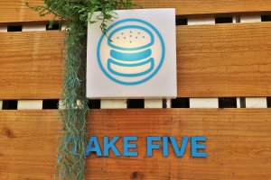 Take 5 is just around the corner from the shopping arcade