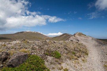 Beautiful volcanic landscapes