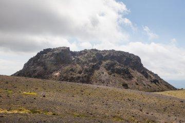 Mount Tarumae's lava dome
