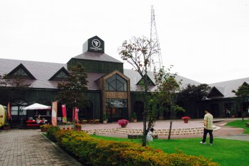 The entrance to the Takahata Winery