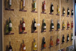 Choose from a selection of wines