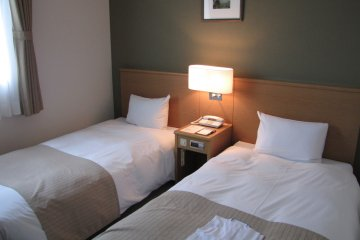 The comfortable rooms promise a good night's rest