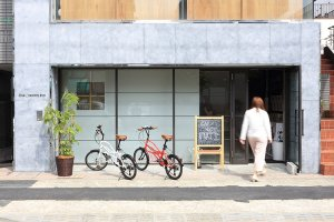 Вход в Oak Hostel Fuji