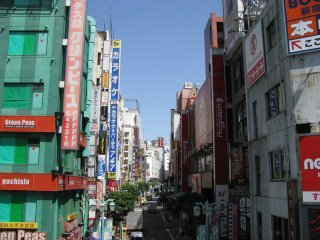 One of the streets of Shinjuku