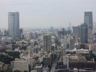 La vue sur Roppongi