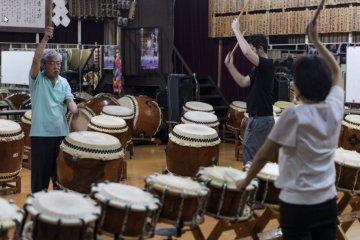 Osuwa Daiko practice room