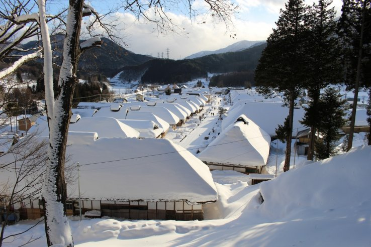 Ouchi-juku in Shimogo
