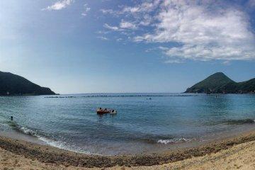 หาดอิสโสะในยะคุชิมะ
