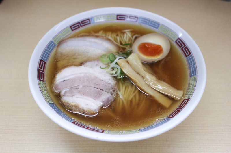 Niboshi Ramen (¥780)