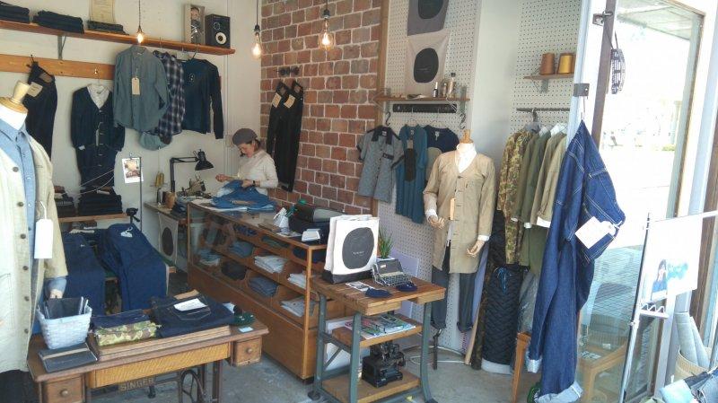 Denim shop's wares