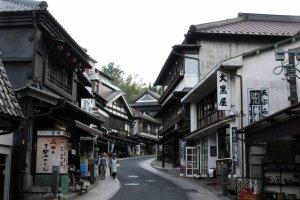 A street of Narita town