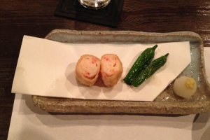 Shrimp rolls—yummy!