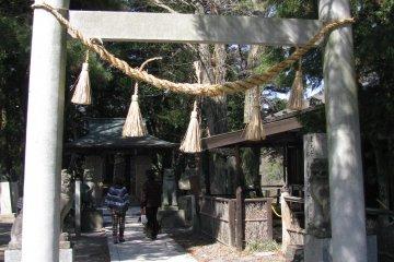 Вход в храм Дайо