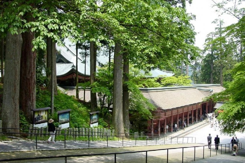 main temple, Konponchudo