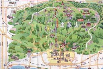 Sakamoto Area Map