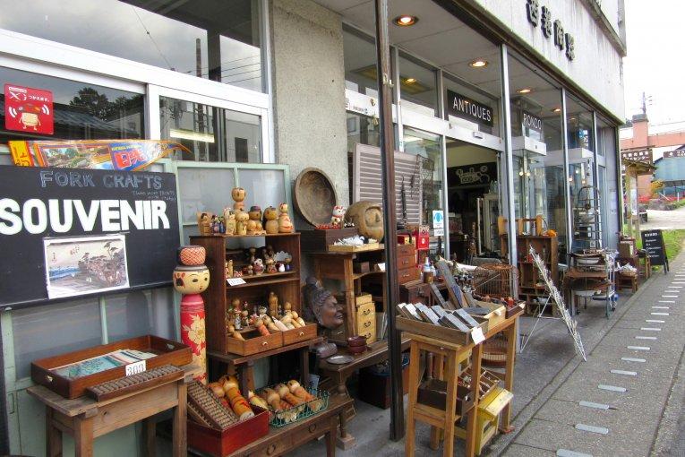 Toko Antik Rondo di Nikko