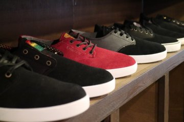 The Mint sells a variety of shoe brands