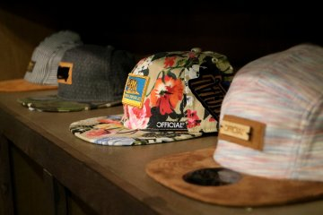 The Mint sells a variety of panels and snapbacks