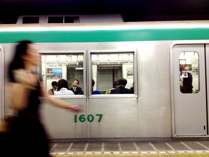 <p>The Kyoto subway can be less crowded than the buses from Kyoto station to places like Nijo and Gion</p>