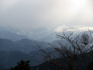 """What I could see from the top was """"Mysterious Japanese view"""""""