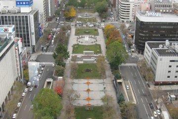 Парк в дневное время