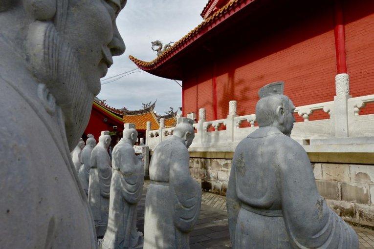Мавзолей Конфуция в Нагасаки