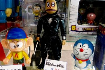 Doraemon makes an appearance at Mandrake Anime Doll Store in Norbesa Susukino Sapporo