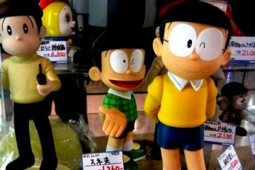 Mandarake Anime doll shop has every coinceivable character for you to take home in Norbesa Susukino Sapporo